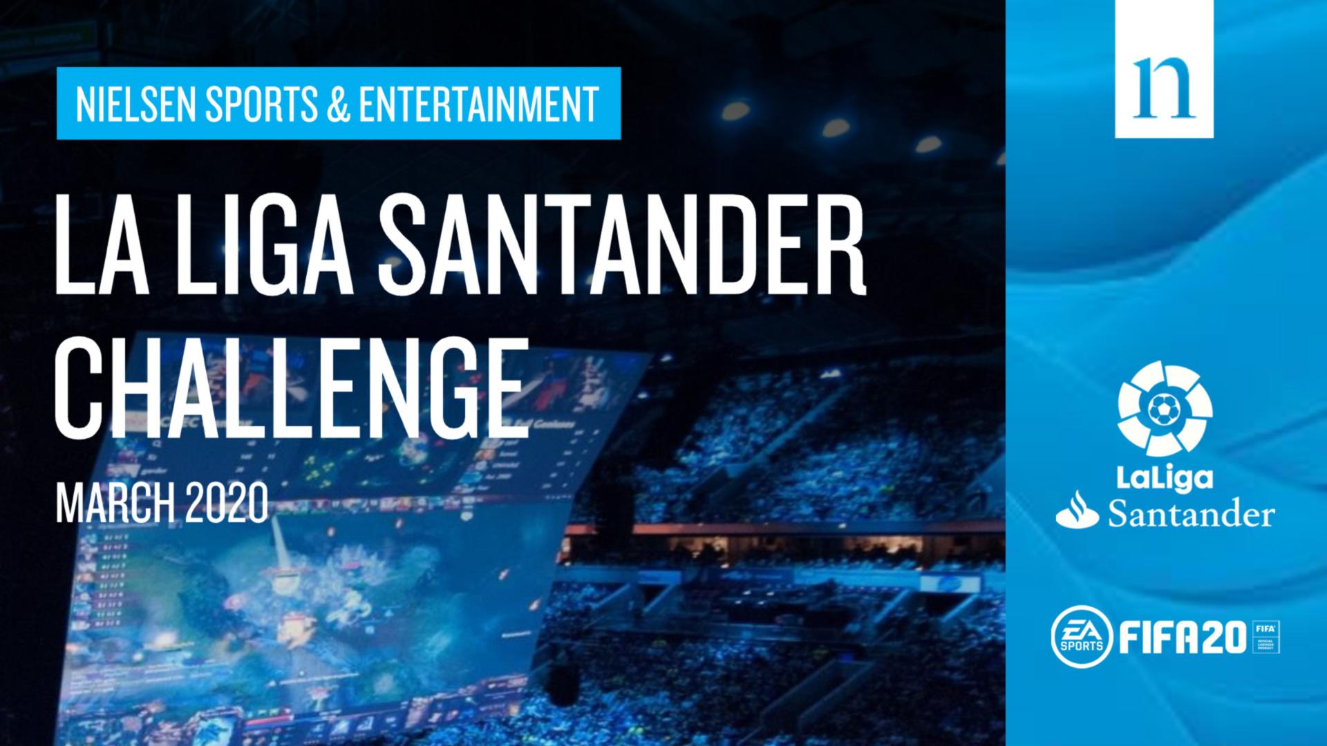 La Liga Santander Challenge 2020 - Media report